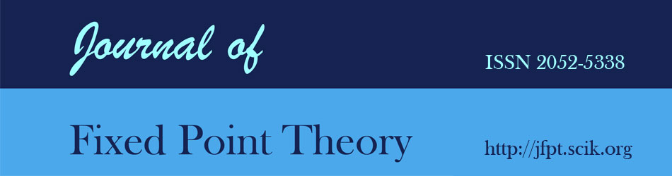 Journal of Fixed Point Theory